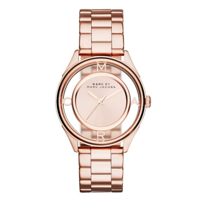Montre Tether or rose, Marc Jacobs, 210 euros