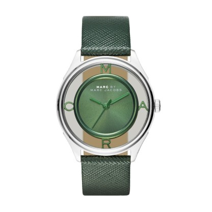 Montre Tether verte, Marc Jacobs, 210 euros