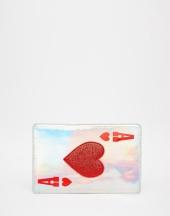 Trousse motif As de Cœur, Skinnydip sur Asos, 19,99 euros