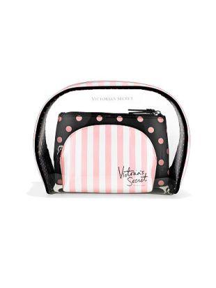 Trio de trousses à cosmétiques, Victoria's Secret, 33,77 euros