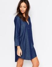 Robe tunique en jean, J.D.Y sur Asos, 21,99 euros