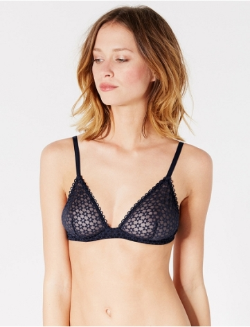 Soutien-gorge triangle mini-wire Marguerite, Princesse Tam Tam, 40 euros