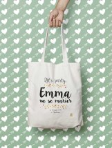 Tote bag personnalisable, OntheOtherFish, 14,90 euros