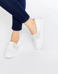 Baskets en toile à enfiler, Fred Perry, 74,99 euros