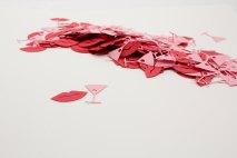 Confettis bouche et verre, Pleasantviewparties, 3,61 euros