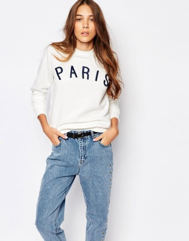 Sweat Paris, Pull&Bear, 17,99 euros