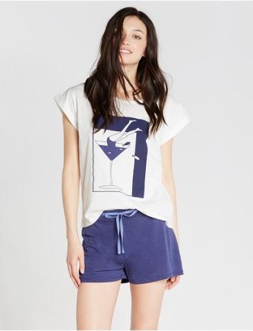 T-shirt manches courtes Sailor, Princesse Tam Tam, 29 euros