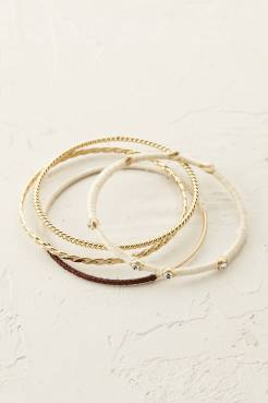 Lot de bracelets Aventine, Anthropologie, 50 euros