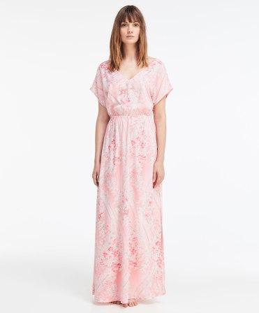 Chemise de nuit fleurs amandier, Oysho, 45,99 euros