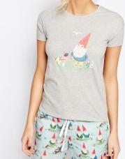 T-shirt de pyjama motif nain de jardin, Cath Kidston sur Asos, 35,99 euros