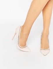 Chaussures pointues à talons Phrase, Asos, 54 euros