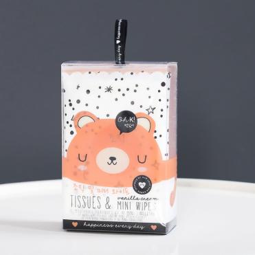 Mouchoirs et lingettes Bear, Oh K ! , 3,95 euros