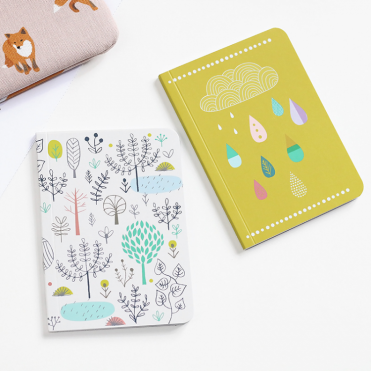 Set de carnets Forest Rain, Mini Labo, 5,90 euros