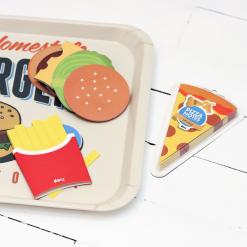 Bloc de notes adhésives junk food, 5,95 euros l'un