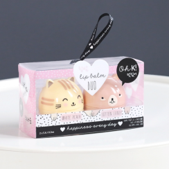 Baume à lèvres Cat and Bear, Oh K ! , 10,50 euros