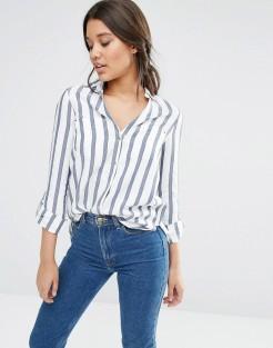 Chemise à rayures, River Island, 40 euros