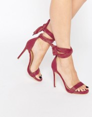 Sandales à talons et lien sur la cheville Sakura, Public Desire, 43 euros