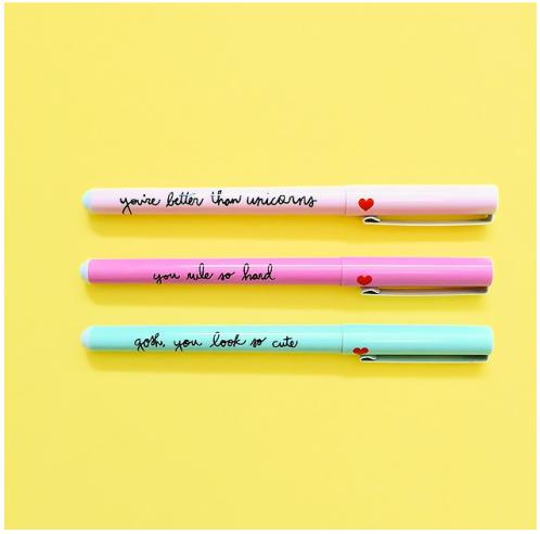 Set de trois stylos à bille, Ban.Do, 17,95 euros