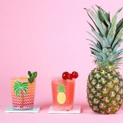 Set de deux verres Tropical Summer, 9,90 euros