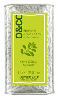 Spécialité à base d'olive et basilic, Oliviers & Co, 31 euros