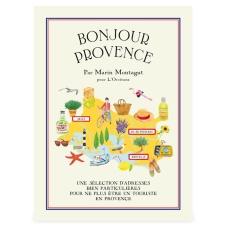 Carte Bonjour Provence, L'Occitane en Provence, 9 euros