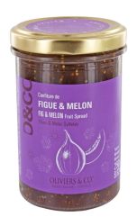 Confiture d'été, figue et melon, Oliviers & Co, 6,90 euros