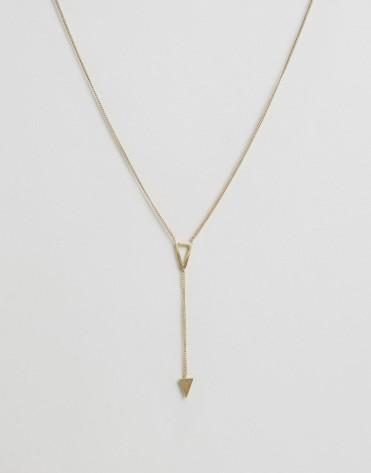 Collier à pendentif triangle, Made, 37 euros