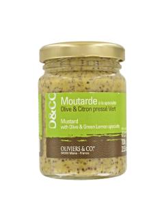 Moutarde olive et citron vert, Oliviers & Co, 4,50 euros