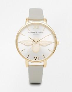 Montre motif abeille, Olivia Burton, 191 euros