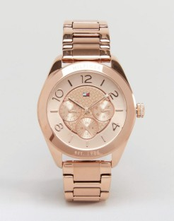 Montre Gracie Or Rose, Tommy Hilfiger, 170 euros