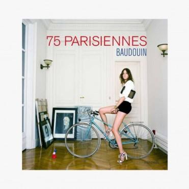 Livre photo 75 Parisiennes, Baudoin, 36 euros