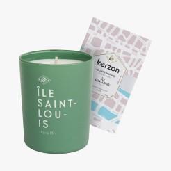 Bougie parfumée Ile Saint-Louis, Kerzon, 35 euros