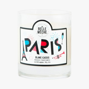 Bougie parfumée Paris, La Belle Mèche, 35 euros