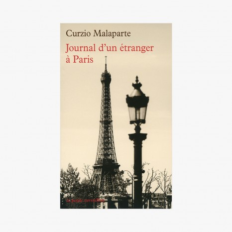 Journal d'un étranger à Paris, Curzio Malaparte, 8,70 euros