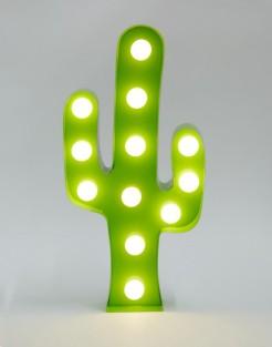 Lampe en forme de cactus, Sass & Belle, 27 euros