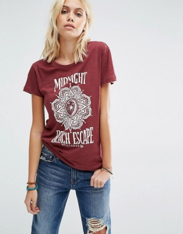 T-shirt imprimé Midnight Beach Escape, Billabong, 31 euros