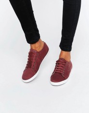 Baskets en sergé Kingston, Fred Perry, 70 euros