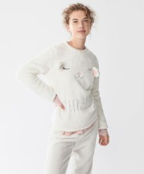 Sweat mouton doux, Oysho, 23 euros