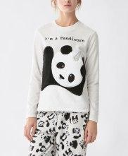 T-shirt polaire Pandicorn, Oysho, 23 euros