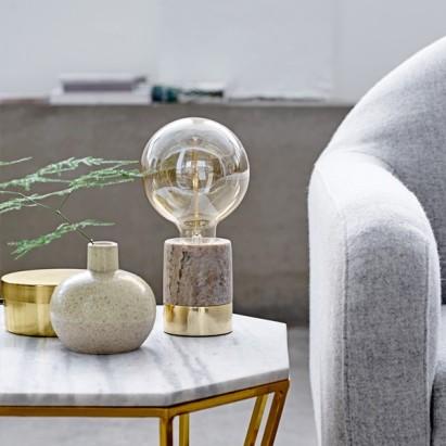 Lampe en marbre, BLOOMINGVILLE, 179,00 euros