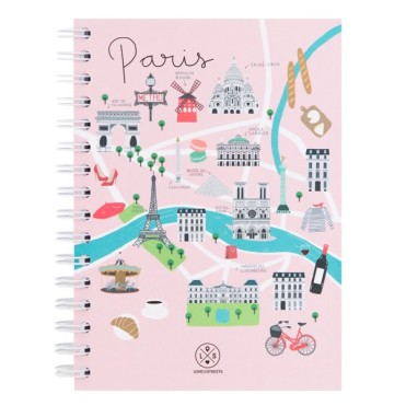 Cahier Paris, LOVELY STREETS, 11,90 euros