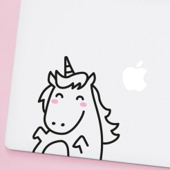 Sticker Lola la licorne, MADE OF SUNDAYS, 18,00 euros
