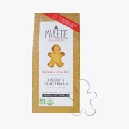 Préparation bio pour biscuits gingerman, Marlette, 7,95 euros