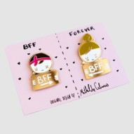 Pin's BFF Forever, MATHILDE CABANAS, 12,00 euros