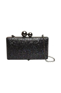Clutch à sequins brillants, 34,99 euros, Naf Naf