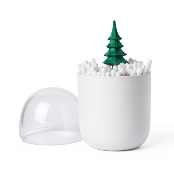 Pot à cotons-tiges Sapin, QUALY DESIGN, 11,90 euros