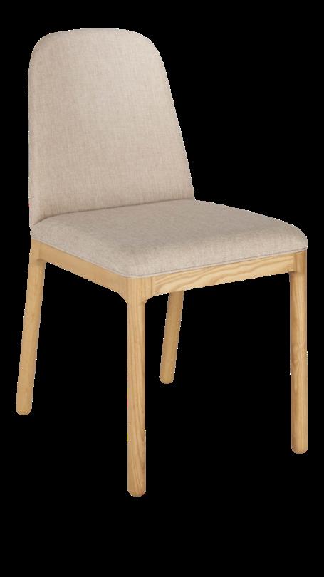Chaise en tissu beige, Habitat, 148,40 euros