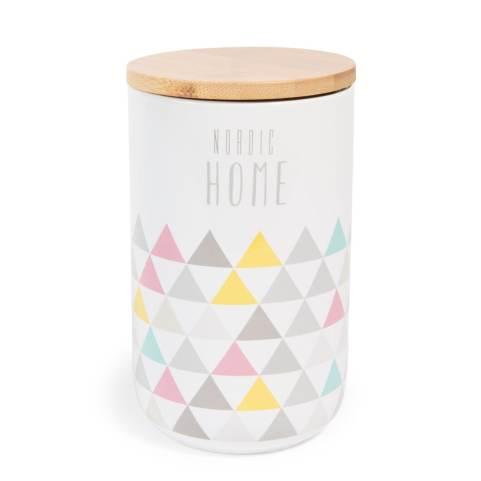 Pot en faïence 10 cm NORDIC HOME, Maisons du monde, 8,35 euros