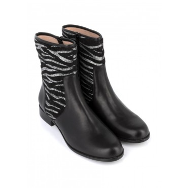 Bottines Alicia Noir, Mellow Yellow, 89,40 euros
