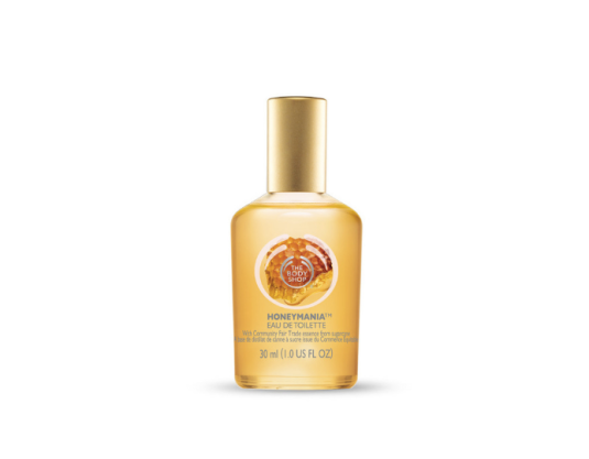 Eau De Toilette Honeymania™, The Body Shop, 13 euros